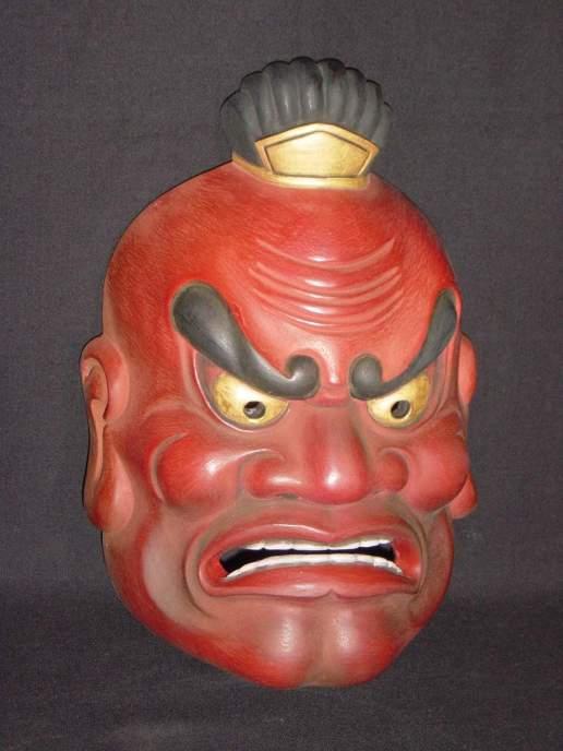 bugaku mask niou