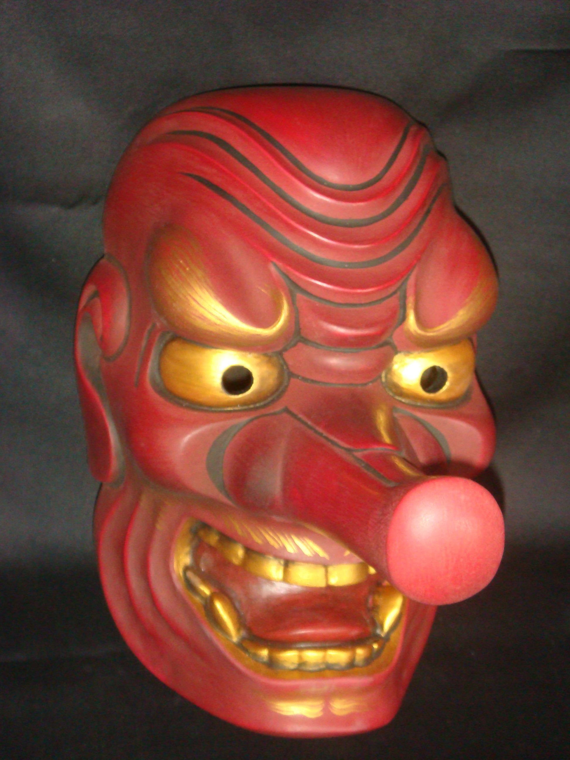 Custom Mask - Te...Tengu