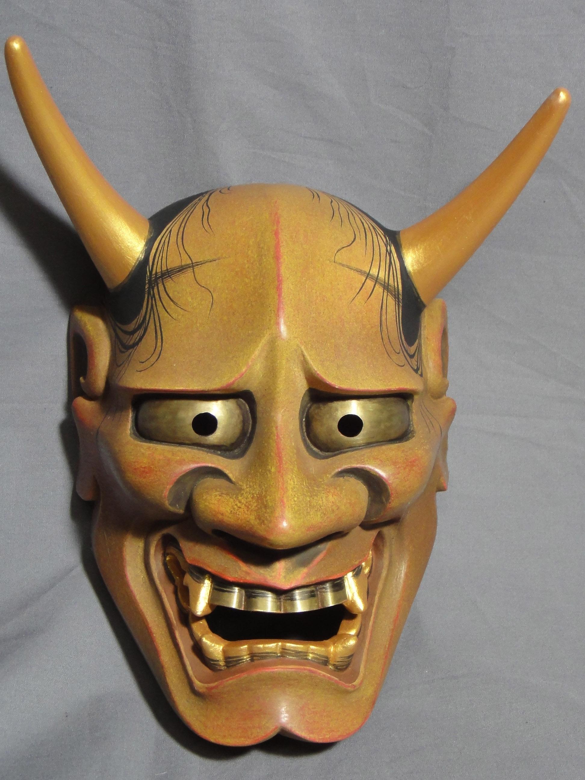 Noh Mask- Hannya 2