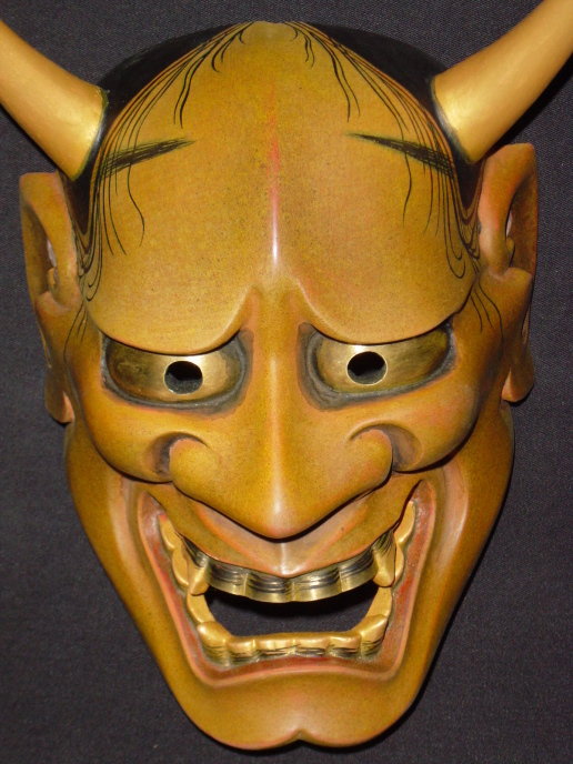 oni mask tattoo designs