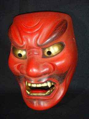 Devil mask Syakki (red oni)
